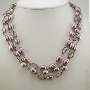 Claudia Agudelo simulated pearl necklace PM 691